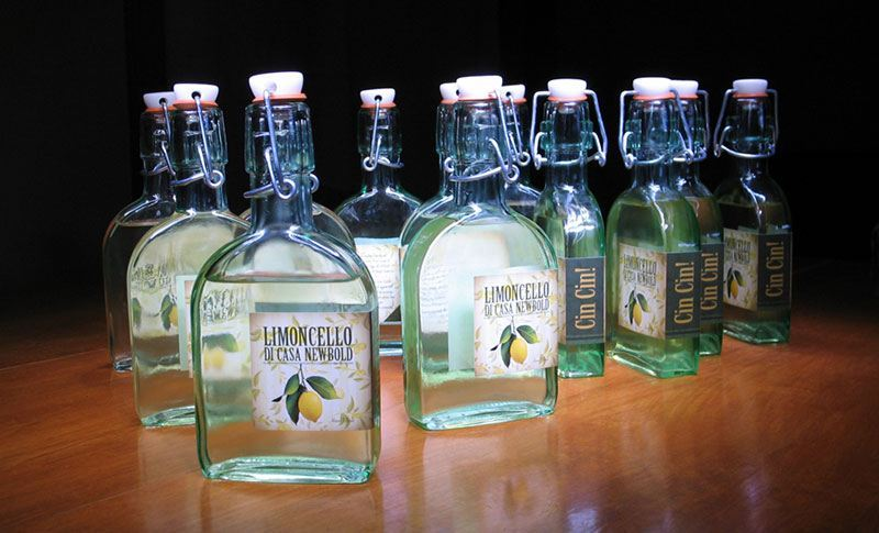 limoncello lable